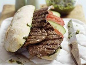 Minute 'Sandwich' Steaks